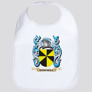 Campbell Coat of Arms - Family Crest Baby Bib