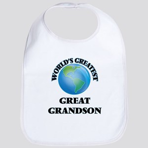 World's Greatest Great Grandson Bib