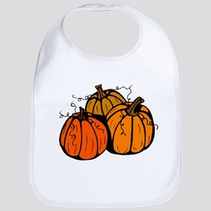 Three Pumpkins Bib