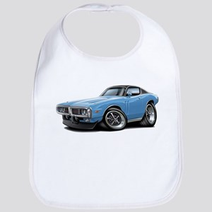 Charger Lt Blue-Black Car Bib