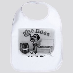 Top of the heap - 1880 Cotton Baby Bib