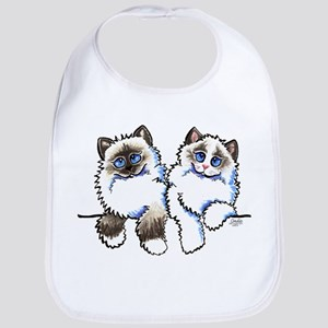 Ragdolls Pair Off-Leash Art™ Bib