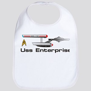 Starship Enterprise Bib
