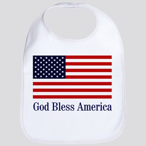 God Bless America Bib