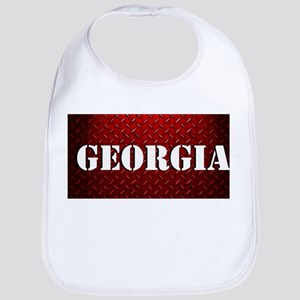 Georgia Diamond Plate Design Bib