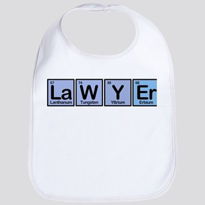 Lawyer made of Elements Bib