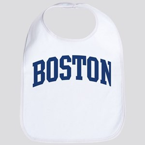 BOSTON design (blue) Bib