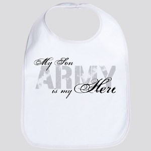 Son is my Hero ARMY Bib
