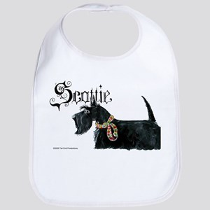 Scottish Terrier Gothic Bib