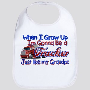 Funny Truck Driver Quotes Baby Bibs Cafepress