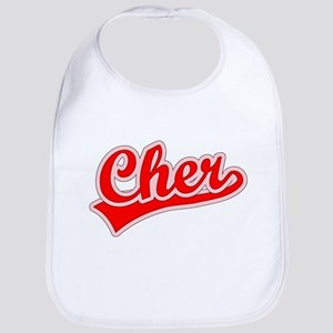 Retro Cher (Red) Bib