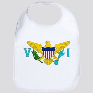 United States Virgin Islands Bib