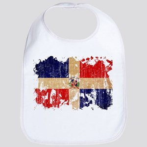 Dominican Republic Flag Bib