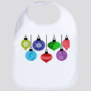 Christmas Ornaments Bib