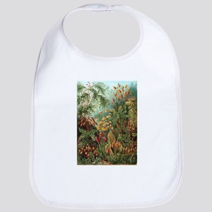 Vintage Plants Decorative Bib