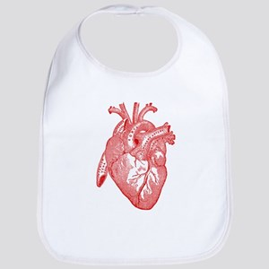 Anatomical Heart - Red Bib