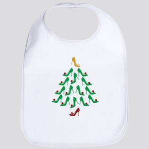 High Heel Shoe Holiday Tree Bib