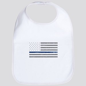 Thin Blue Line Bib