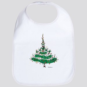 Christmas Dress Bib