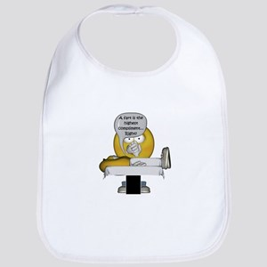 Smiley Massage Fart Bib