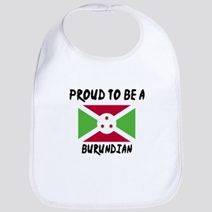 Proud To Be Burudian Cotton Baby Bib