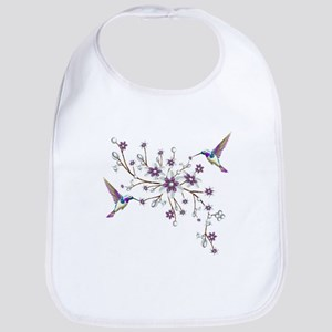 Hummingbirds Baby Bib