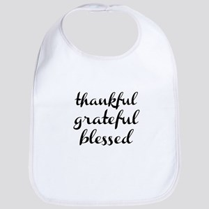 thankful grateful blessed Bib