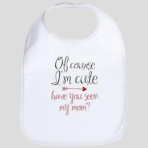 afee1bce8964c Cute Sayings Baby Bibs - CafePress