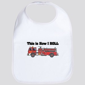 How I Roll (Fire Engine/Truck) Bib