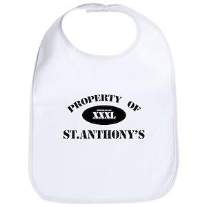 Property of St Anthony's Bib