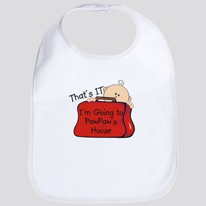 Going to PawPaw's Funny Bib