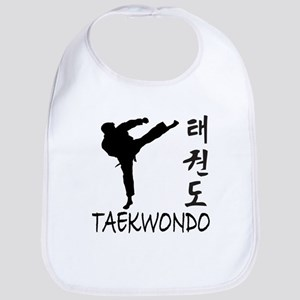 Black Belt Tae Kwon Do Baby Bibs - CafePress