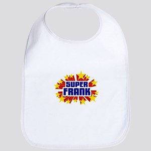 Frank the Super Hero Bib