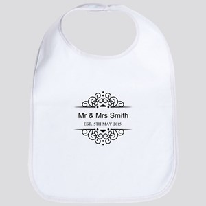 Custom Couples Name and wedding date Bib