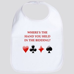 duplicate bridge gifts Bib