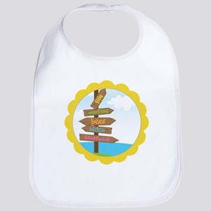 Beach Signs Bib