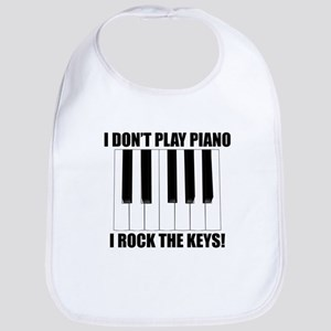 I Rock The Keys Bib