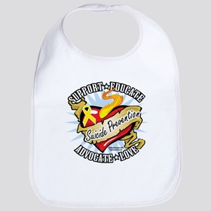 Suicide Prevention Classic He Bib