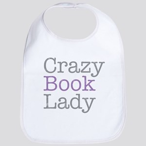 Crazy Book Lady Bib
