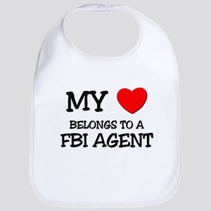 My Heart Belongs To A FBI AGENT Bib
