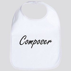 Composer Artistic Job Design Bib