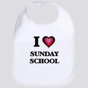 I love Sunday School Bib