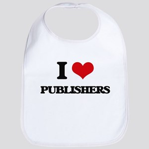 I Love Publishers Bib