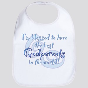 Blessed Godparent BL Cotton Baby Bib