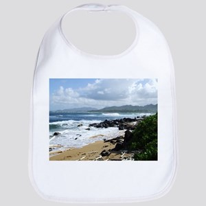 Beach at Kapaa Kauai Hawaii Bib