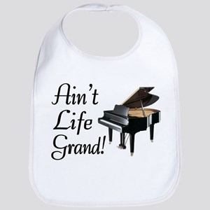 Ain't Life Grand Piano Bib