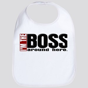 Im the Boss Bib