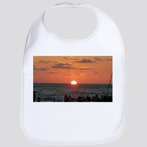 Beautiful sunset Baby Bib