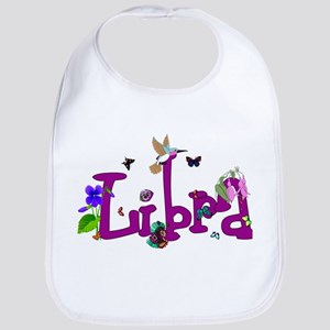 Libra Flowers Cotton Baby Bib