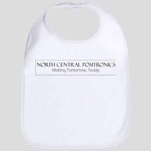 North Central Positronics black Bib